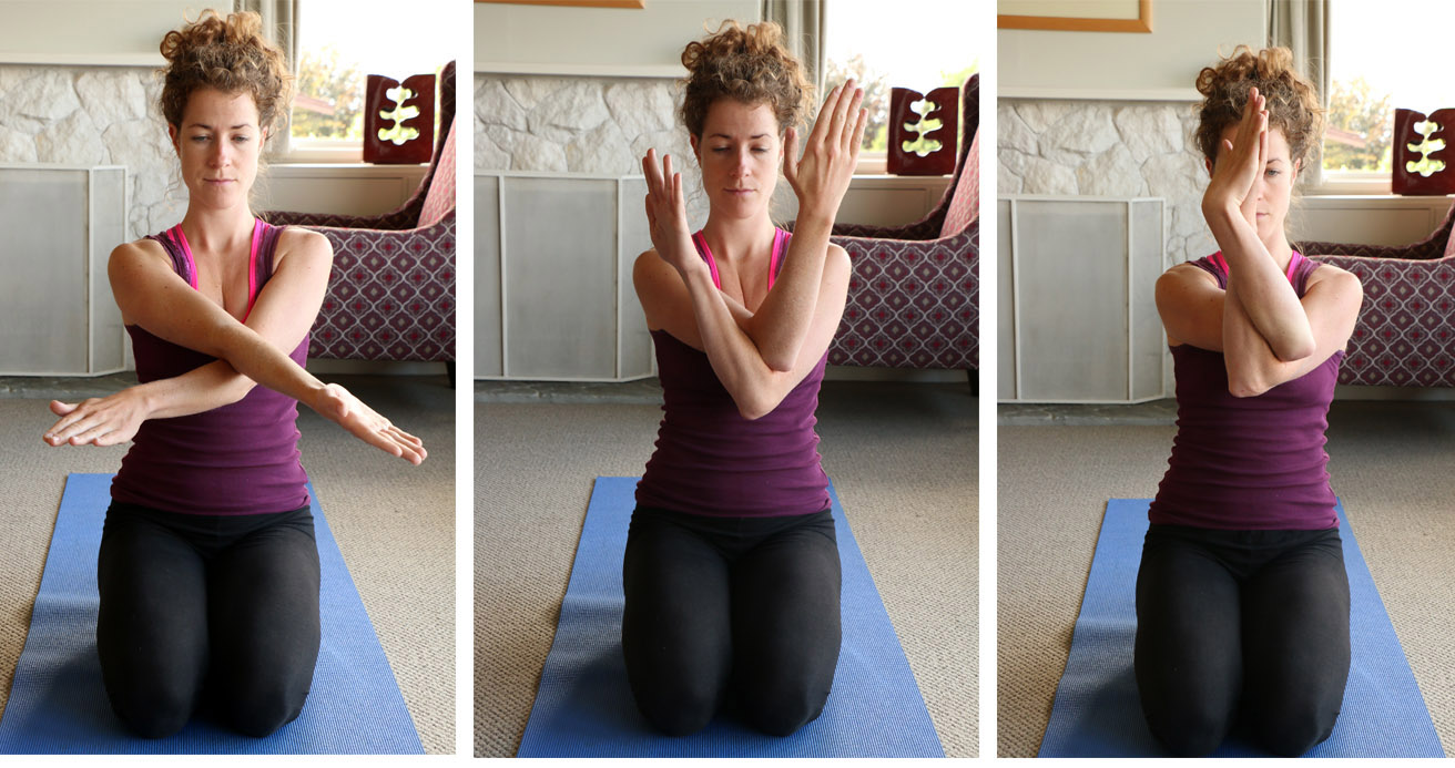 4 Yoga Poses For The Shoulders